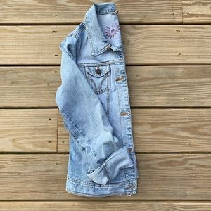 Hollister Co. light denim jacket